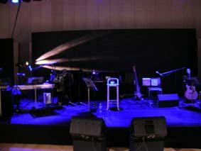 冷泉ライブ舞台